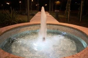 Fontana circolare piazza Mercato - Sirmione