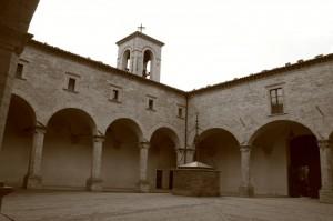 Interno del convento di Perugia