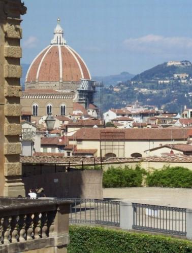 Firenze - IL CUPOLONE DAL GIARDINO DI BOBOLI