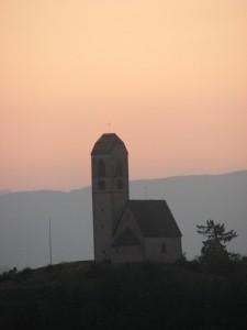 Chiesetta al tramonto