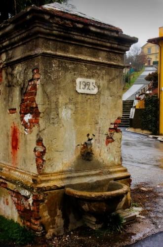 Dicomano - La fontana del   1925