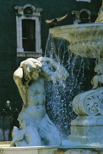 Catania - Fontana dell'Amenano a Catania
