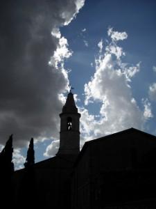 Campanile della cattedrale dell'assunta di Pienza