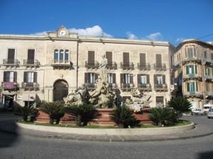 Siracusa fonte di Diana in Piazza Archimede