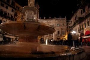 Fontana in Piazza Erbe
