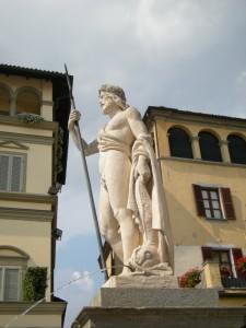 Moncalieri, fontana del Saturnio