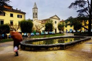 La fontana di Piazza Umberto 1°