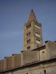 Il campanile dell'abbazia di Pomposa