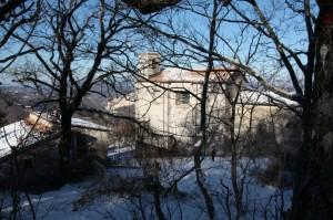 Santuario di S. Maria dei Bisognosi - Trame invernali