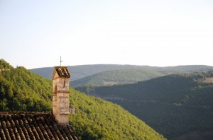 Panorama a Cascia