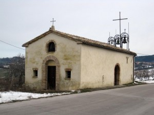 Chiesetta, località Casalini di Apiro