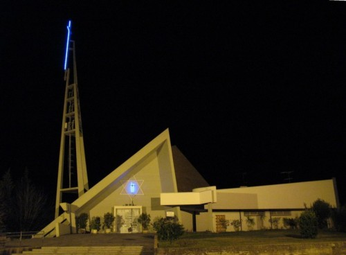 Ripe - La modernissima parrocchiale