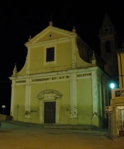 La parrocchiale di San Pellegrino