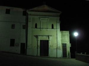 La parrocchiale di Castel Colonna