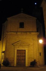 La parrocchiale di Monterado