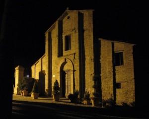 La facciata del santuario di S.Gervasio