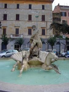 Fontana Dio Nettuno