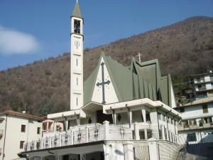 la parrocchia della frazione di Fontana