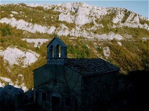 Chiesetta in Val Rosandra