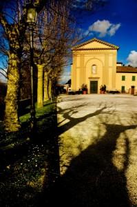 Le lunghe ombre ……………a   San Michele