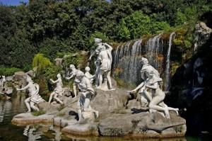 Parco della Reggia - Fontana di Diana e Atteone