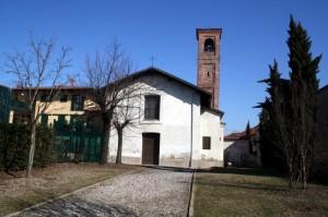"""ORIGGIO """"La chiesetta di San Giorgio""""."""