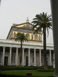 Basilica di San Paolo fuori le mura.