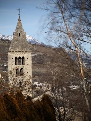 Villeneuve - campanile chiesa St. Maria