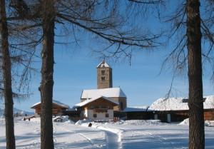 Chiesetta sopra Meltina 15-02-2009