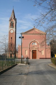 La chiesa di Fossoli