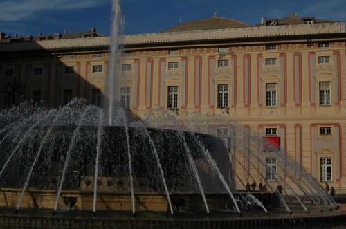 Genova - Fontana di Piazza de Ferrari