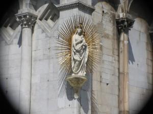Particolare della chiesa di S. Michele in lucca