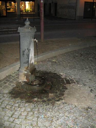 Cervignano del Friuli - fontanella su strada...