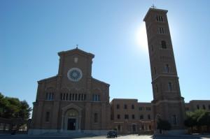 Facciata del Santuario di Santa Teresa