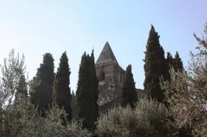 Campanile di San Pietro in Mavino tra campanili naturali - Sirmione