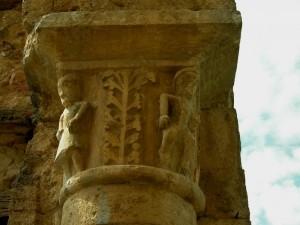 Abbazia di S Maria Assunta a Conèo, particolare