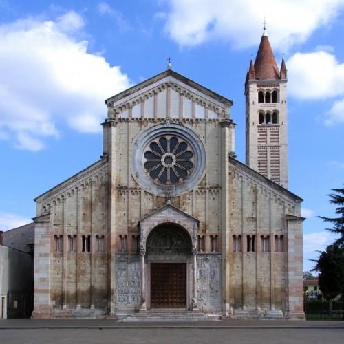 Verona - San Zeno, facciata