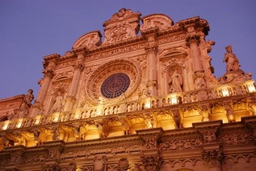 Lecce - Particolare della Basilica Santa Croce