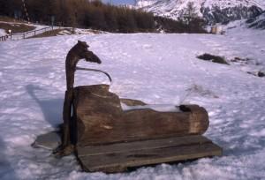 Foto sestriere for Fontane in legno