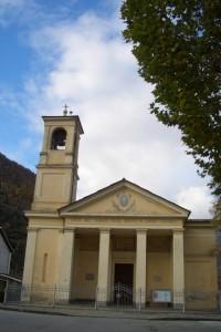 Il tempio valdese di Pomaretto
