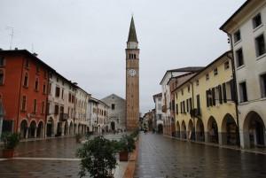 Duomo sotto la pioggia