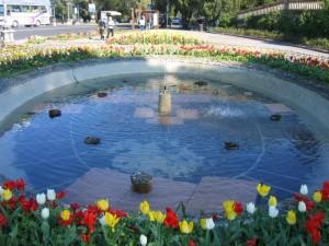 La fontana del piazzale Michelangiolo