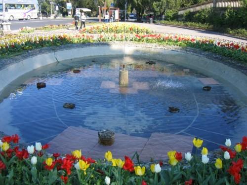 Firenze - La fontana del piazzale Michelangiolo