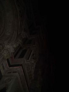 campanile nella notte