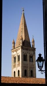 Scorcio del campanile di San Giovanni - Saluzzo