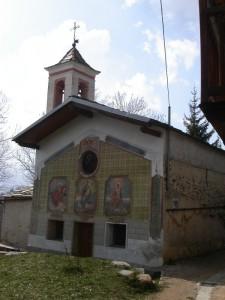 chiesetta di Becetto, frazione di Sampeyre, Val Varaita