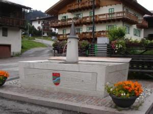 fontana di Soraga, Val di Fassa