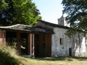 Oncino (Valle Po), chiesa della Madonna del Bel Fo … il nome deriva dalla presenza di faggi nella zona