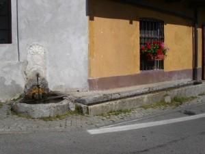 Oncino (Valle Po), fontana