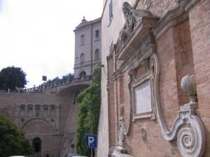 fonte e porta Marzia